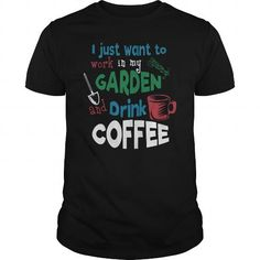 Cool COFFEE DRINKERS (Garden and Coffee) T-Shirts