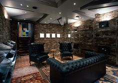 Great man cave!