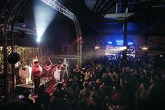 BCUC, one of Jozi's best bands preforming to a full crowd at the GoodLuck Bar Johannesburg