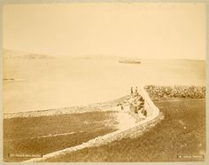 Paul's Islands from Wignacourt Tower area in St. Credit: Photo B Agius in the Blatchford Collection, Jaffet Library, American University of Beirut. Old Pictures, Old Photos, Vintage Photos, Malta Island, Photo B, The Old Days, Beirut, Archipelago, Monument Valley