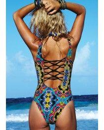 218857e341 2016 L *Space Swimwear Moroccan Dreams Moda One Piece Bikini Ready, One  Piece Swimwear
