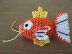 I can't get away from making Pokémon patterns, but then again, it seems like it is easier for me when I know what the amigurumi should look like before I translate into crochet. I'm still having a ...