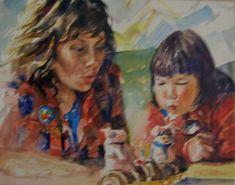 Brian Baxter: Birthday Portraits, Birthday, Artist, People, Painting, Birthdays, Artists, Painting Art, Paintings