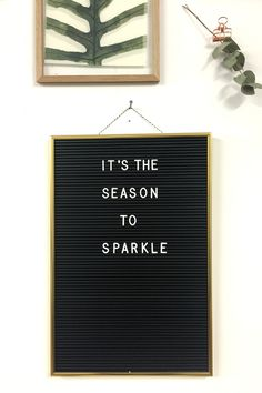 It's the season to sparkle // Brainy Days Motivational Words, Words Quotes, Life Quotes, Inspirational Quotes, Christmas Captions, Christmas Quotes, Memo Boards, Into The Woods Quotes, Licht Box