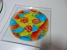 ABruxinhaCoisasGirasdaCarmita: Taça em vidro