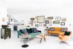 Jeweler+Camille+Eddera's+impressive+small-space+L.A.+makeover.+#refinery29+http://www.refinery29.com/most-beautiful-spaces-2015#slide-1