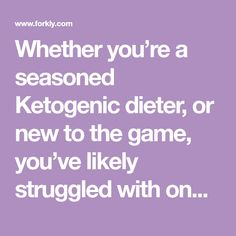 Whether you're a seasoned Ketogenic dieter, or new to the game, you've likely struggled with one major thing – SNACKS. The spice of life, right? We seem...