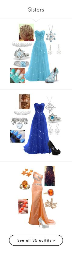 """Sisters"" by briony-jae ❤ liked on Polyvore featuring Gemvara, Jon Richard, Reeds Jewelers, Allurez, Celeste, Gorjana, Badgley Mischka, FairOnly, Supermary and Forever New"