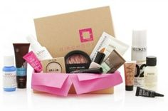 I gotta try this! The Birchbox. Get a box every month filled with awesome beauty samples and products! Then I can get on the birchbox website and purchase large versions of the products at a discounted rate. I Love Makeup, Beauty Makeup, Makeup Kit, Free Makeup Samples, Free Samples, Beauty Box Subscriptions, Perfume, Thing 1, Subscription Boxes