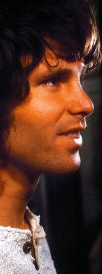 """Jim Morrison.  """"The time to hesitate is through.""""  [Light My Fire]"""
