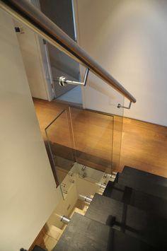 Glass balustrade, Staircase contemporary staircase