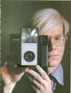 Andy Warhol & camera (please follow minkshmink on pinterest)