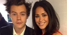 Sam Quek criticised over 'insensitive' selfie with Harry Styles