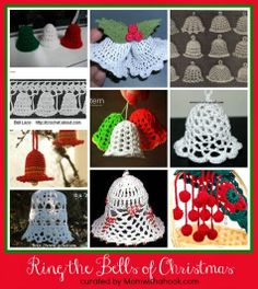 Free Crocheting Patterns | MomWithAHook | Crochet Blog | : Ring the Bells of Christmas - 10 Patterns to Crochet