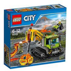 Buy LEGO City 60122 Volcano Crawler Online at johnlewis.com