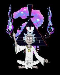 Trippy Rick And Morty, Rick And Morty Drawing, Rick And Morty Tattoo, Wallpaper Earth, Glitch Wallpaper, Dark Wallpaper, Galaxy Wallpaper, Rick And Morty Quotes, Rick And Morty Poster
