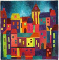 Contemporary Quilt - Home