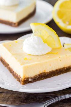 Lemon Cream Pie Bars