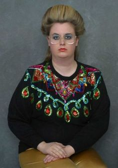 A sister wife Christmas sweater.  In case you were wondering.