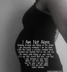 Pregnancy quote #PregnancyQuotes