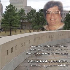 With the 20th anniversary of the Murrah Federal Building bombing fast approaching, we wanted to visit with some of the survivors and see how they are doing.  This Sunday, April 19 at 3 p.m. on OETA.