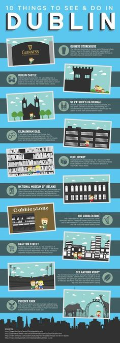 10 things to do and see in Dublin, Ireland!   Y Travel
