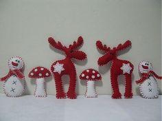 vianocne dekoracie z filcu - Hľadať Googlom