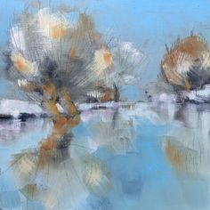 Cornwall & other landscapes: Colin Pollock Contemporary Landscape, Cornwall, Landscapes, Abstract, Winter, Artwork, Paisajes, Summary, Winter Time