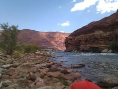 On the Colorado River at Lee's Ferry
