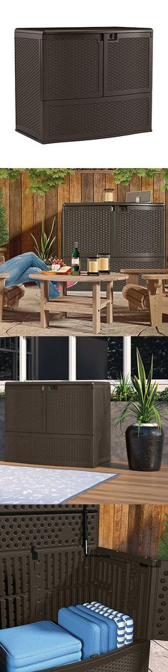 71 Gallon Keter Sherwood Deck Box   Deck Box, Decking And Patio Accessories