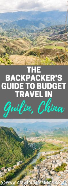 Budget Travel Guilin