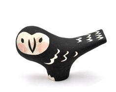 Ceramic owl by Makota.