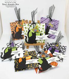 Themenwoche Halloween – Briefumschlag für Gummibärchen – Tina's Kreativbox