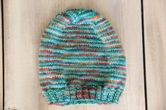 Toddler Sock Yarn Beanie - Slouchy Hat - Fall Hat - Spring Hat by SerbyStitches on Etsy