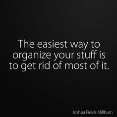 🤷🏻♀️ the major point of KonMari Great Quotes, Quotes To Live By, Me Quotes, Motivational Quotes, Inspirational Quotes, Note To Self, Good Advice, Mantra, Self Help
