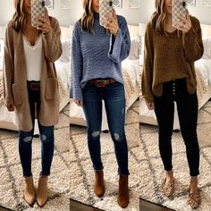 199 charming fall outfits ideas for women that looks cool – page 32 Fall Fashion Outfits, Casual Winter Outfits, Casual Fall Outfits, Trendy Outfits, Autumn Fashion, Womens Fashion, Fall Fashion Women, Cute Outfits For Fall, Fashion Ideas