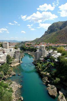 Mostar, Bosnia & Hercegovina by Erik Jepson