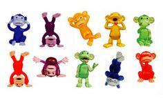Amazon.com: Funny Monkey Figures - Tiny Plastic Monkey Figures - 20 Party Favors: Everything Else