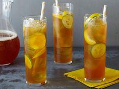 Pimm's Cup Cocktail Recipe : Michael Chiarello : Food Network - FoodNetwork.com