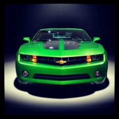 Green & Mean - Chevrolet Camaro
