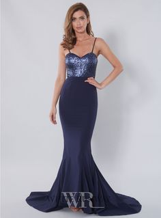 Vianna Dress. A stunning full length dress by Samantha Rose. Features a sweetheart neckline with sequin bodice.