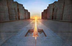 Salk Institute by Louis Kahn [1280 x 819] - Imgur