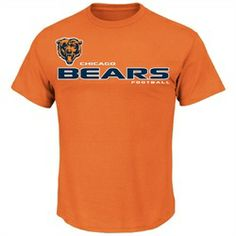 Chicago Bears Men's Tee Majestic All Time Great Shirt