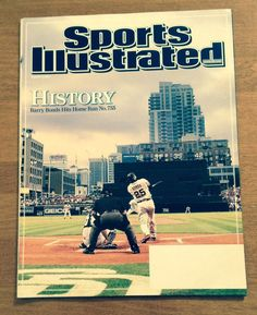 SPORTS ILLUSTRATED August 13, 2007 BARRY BONDS History HR # 755 SF Giants #sfgiants