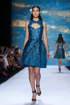 Monique Lhuillier Spring Summer Ready To Wear 2013 New York