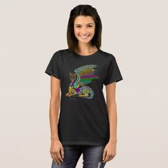 Dragon Spirit Womens basic Tshirt - animal gift ideas animals and pets diy customize