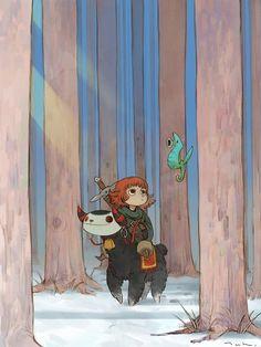Art by Kyoung Hwan Kim (Tahra) Cartoon Kunst, Anime Kunst, Cartoon Art, Anime Art, Cartoon Drawings, Art And Illustration, Character Illustration, Art Illustrations, Kunst Inspo