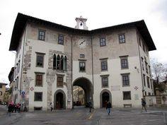 Palazzo dell'Orologio, Torre dei Gualandi ~ Piazza dei Cavalieri (Knights' Square) ~ Pisa