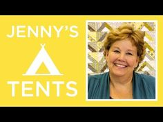 The Jenny's Tents Quilt: Easy Quilting Tutorial with Jenny Doan of Missouri Star Quilt Co - YouTube