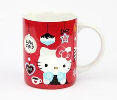 Hello Kitty 14oz Ceramic Mug: Xmas 2013
